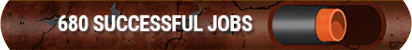 680 SUCCESSFUL JOBS