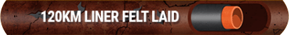 120KM LINER FELT LAID